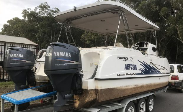 Party Cat Epoxy Coppercoat antifoul – Boat Repairs Port Stephens NSW