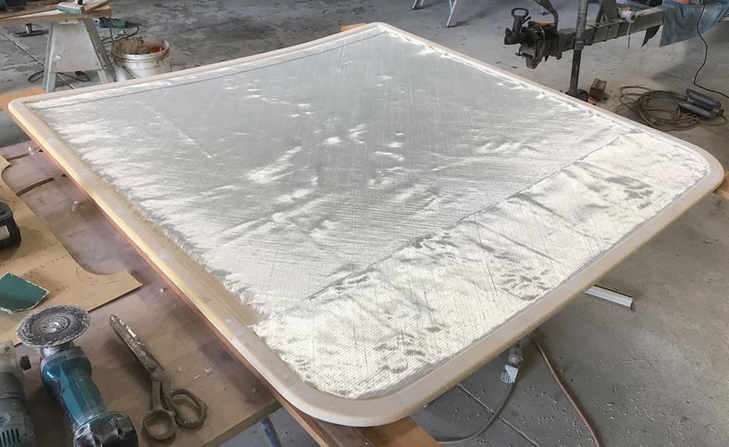 foam epoxy hardtop