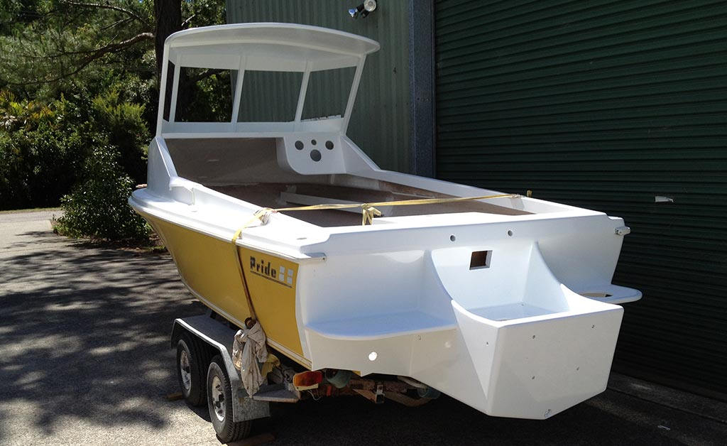 Boat customisation