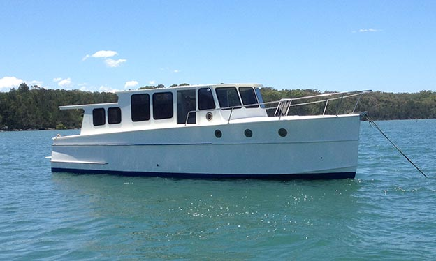 Boat refurbishments Newcastle & Port Stephens - one of our projects