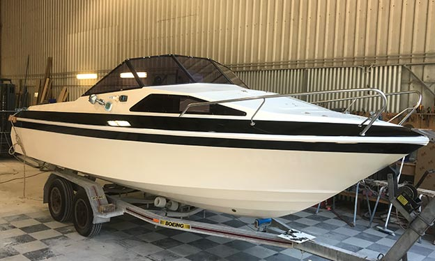 Boat refurbishments
