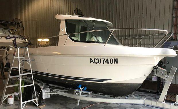 Arvor Hull Damage – Boat Repairs Newcastle NSW