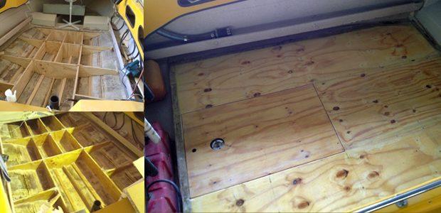 Boat hull repairs