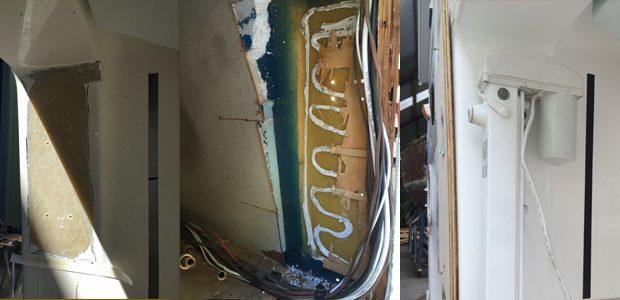 Fiberglass repairs