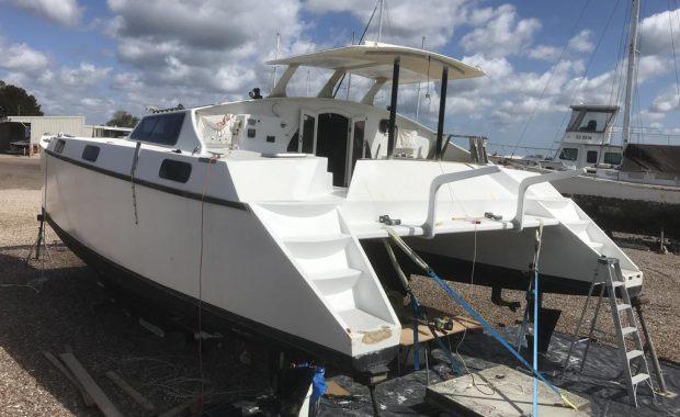 Update on 40ft Catamaran Refit – Boat Modifications Medowie NSW
