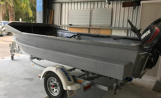 fishing boat modification