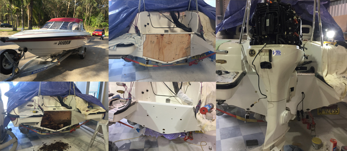 Transom replacement