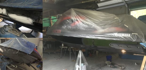 Jet ski repairs and respray