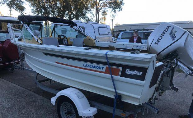 Quintrex Windscreen – Boat Repairs Port Stephens NSW