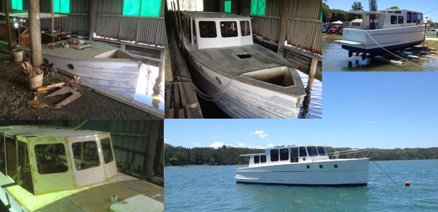 Boat refurbishment
