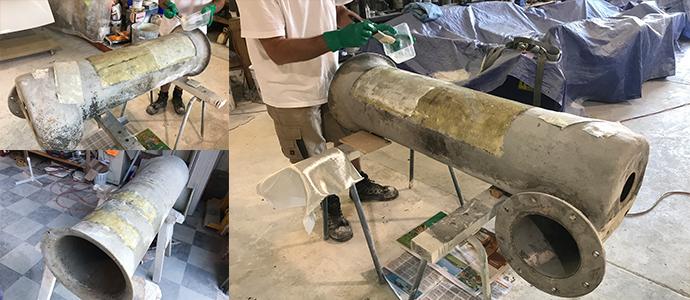Commercial fiberglass repairs